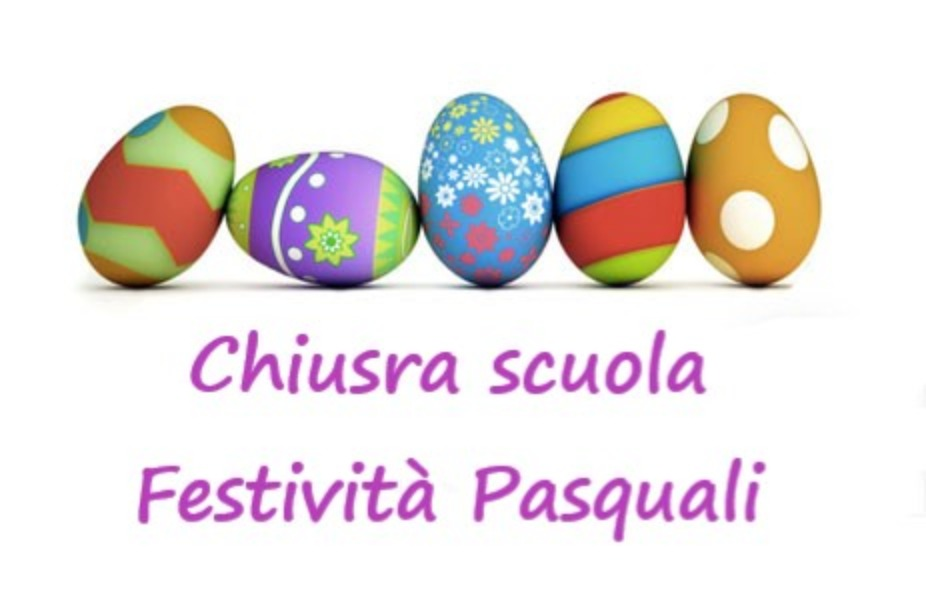 Sospensione attività didattiche per feste Pasq...