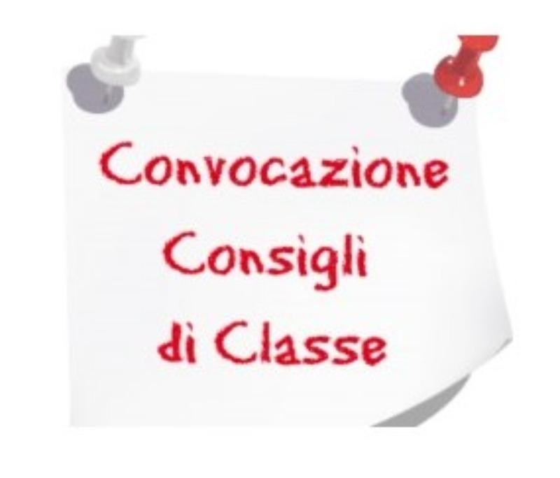 Errata-Corrige. Convocazione dei Consigli di Cl...