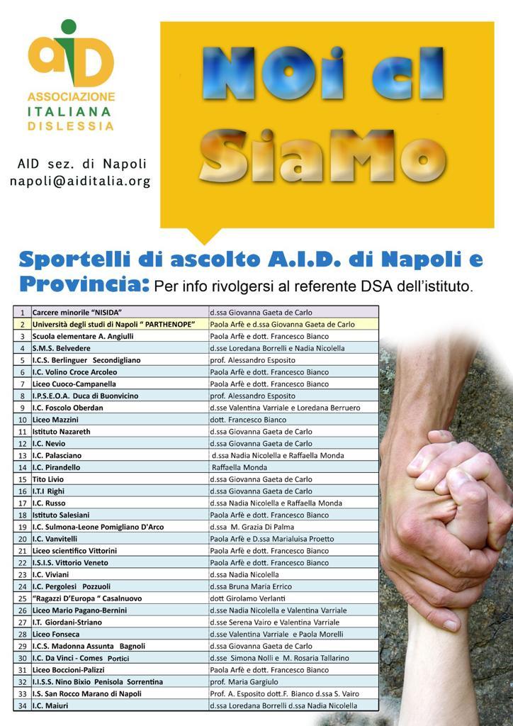 AID Sportelli Scuole Napoli e Provincia