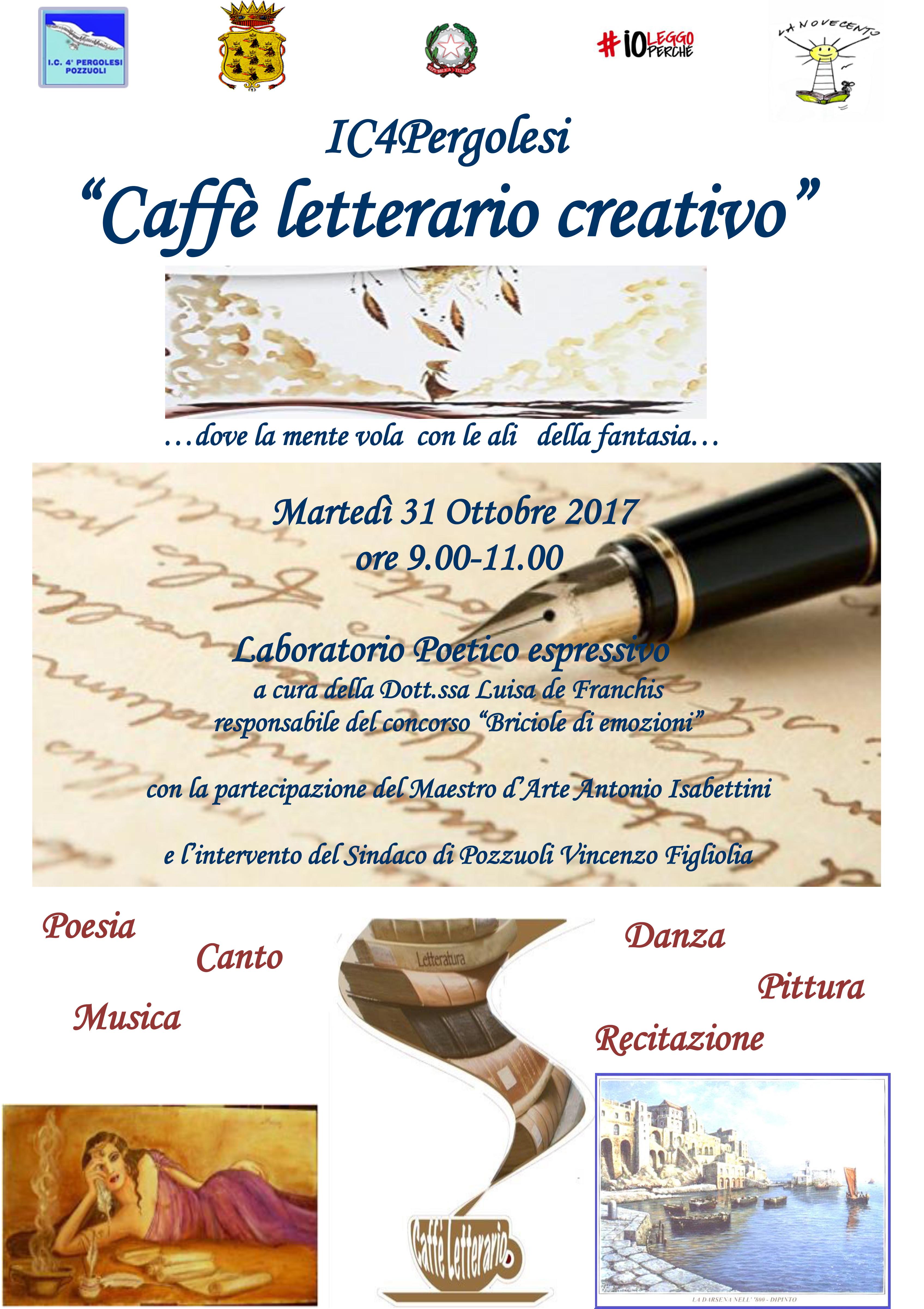 Locandina Caffè letterario creativo